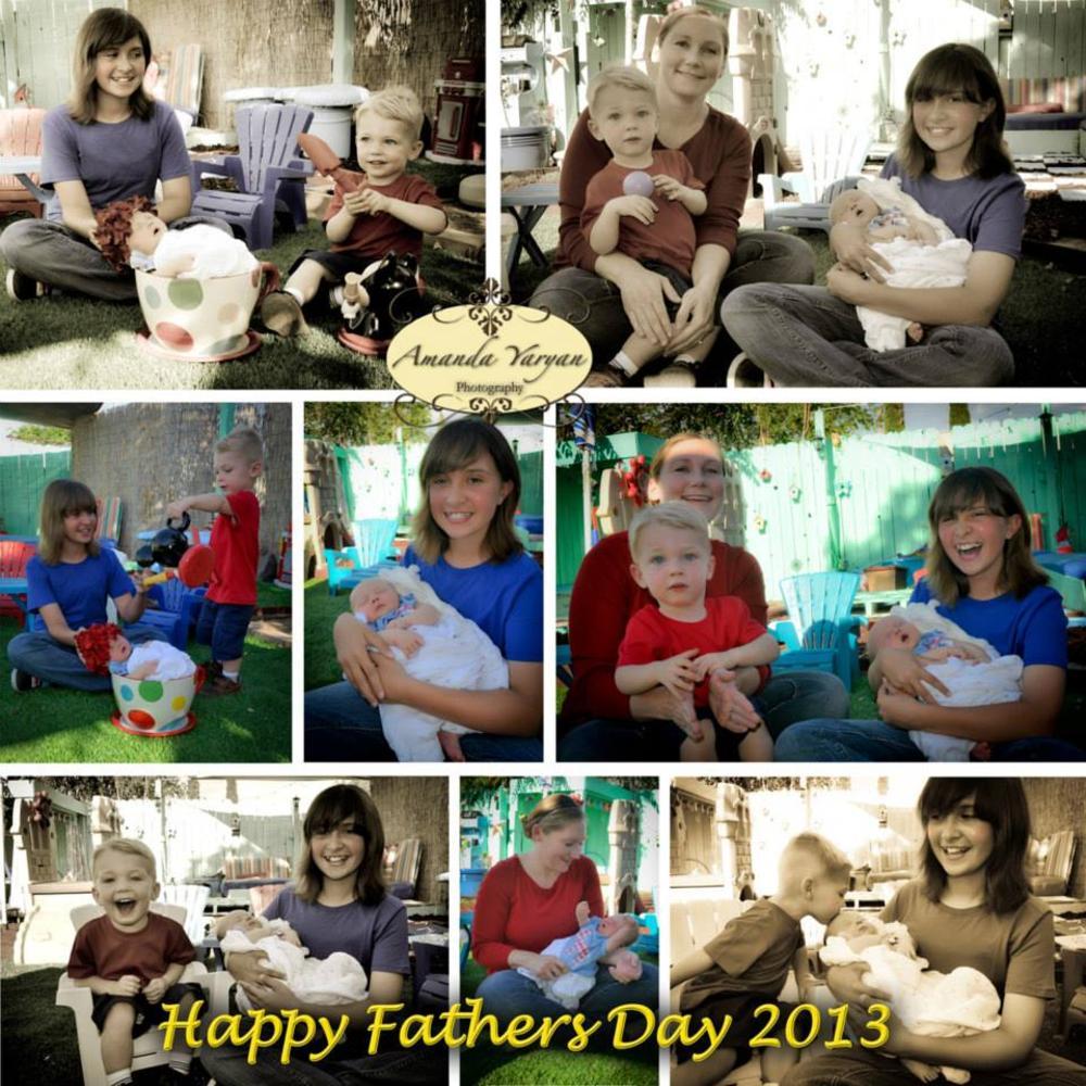 Fathers Day by Amanda Yaryan