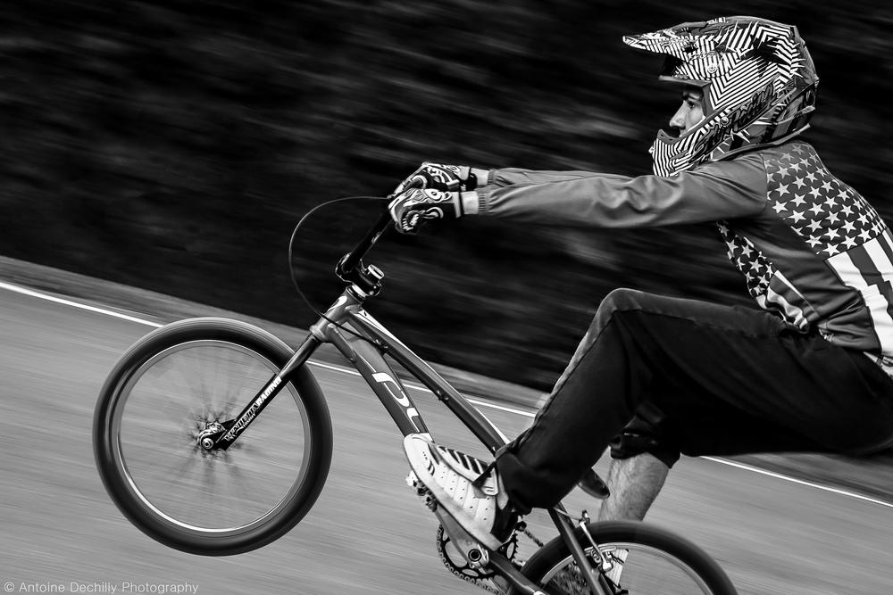 Bmx racing by Antoine Dechilly