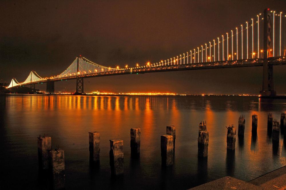 Oakland Bay Bridge by Raphael Bruckner Photography