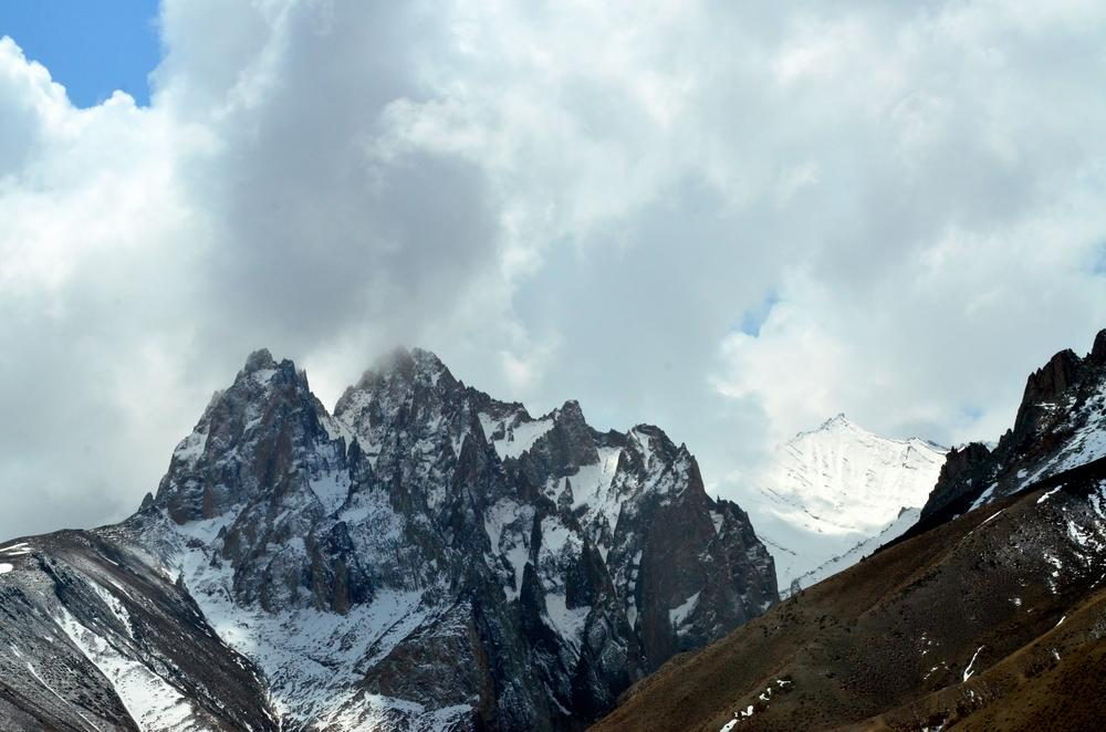 Peaks - different by structure, color and snow-cover.... by sriramshankars