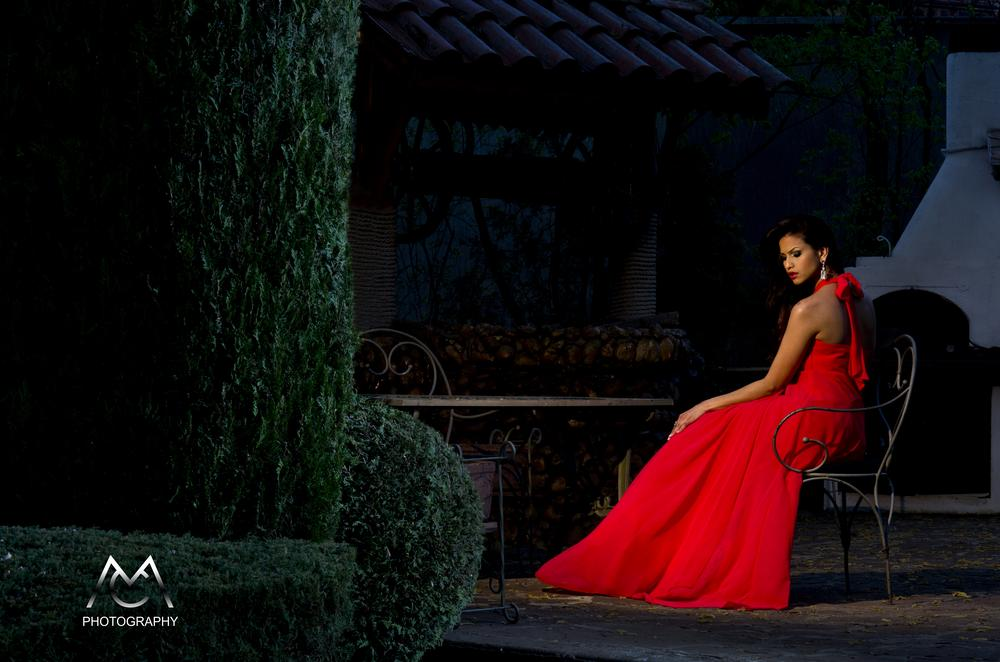beauty queen in red by Martin Stoimenov