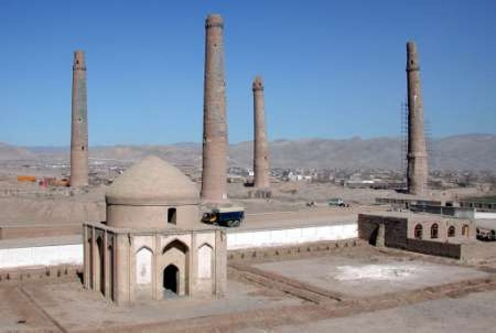 herat-minarets by afghanistan4ever