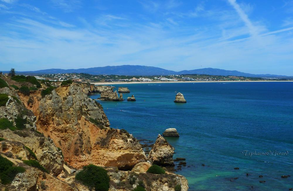 Photo in Nature #nature #portugal #lagos #albufeira #mer #sky #blue