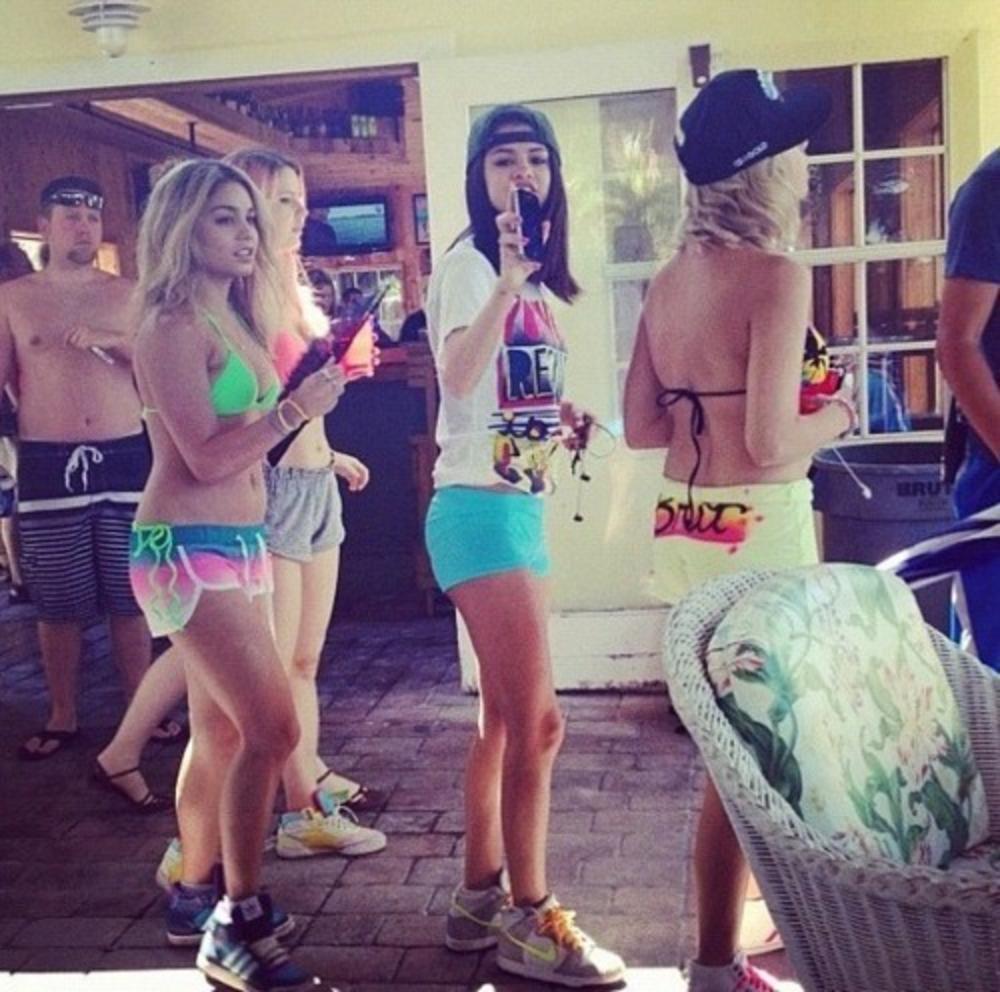 #throwback by Selena Gomez