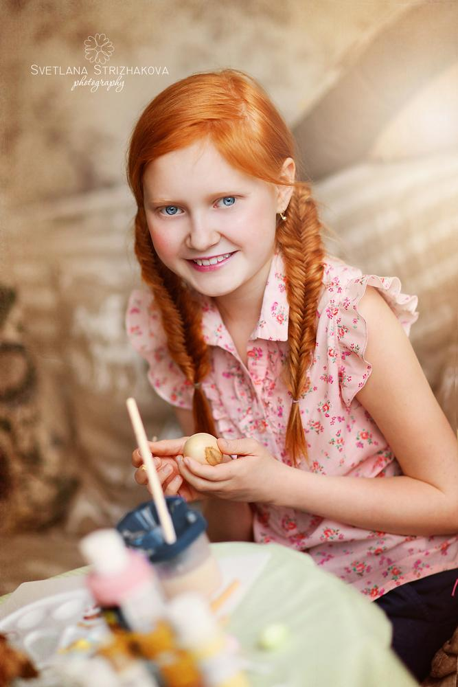 Photo in People #easter #girl #portrait #ginger #redhair