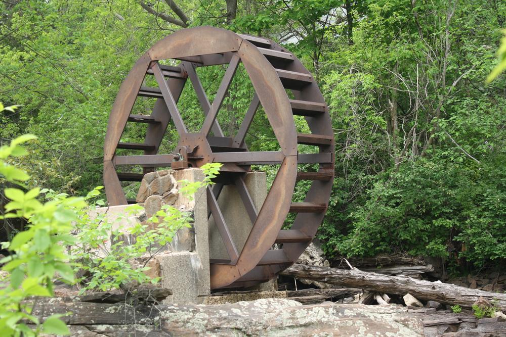 millwheel by Robert Mckenna