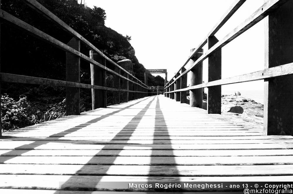 Passarela de Anchieta em Itanhaém by marcosrogeriomeneghessi