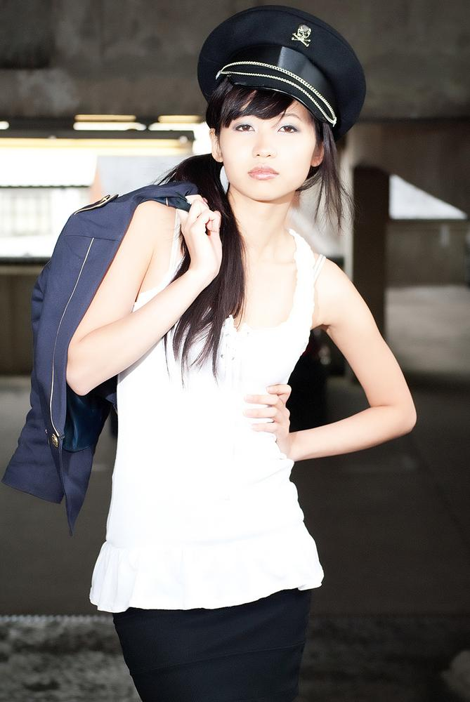 Photo in Random #military #girl #woman #thai #black and white #nikon #nikkor #suffolk #england #english #skull #mae mclean #lilymae