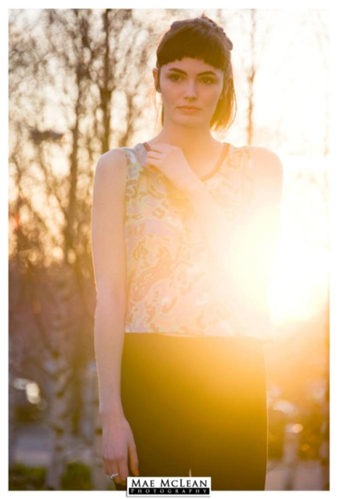 Photo in Fashion #summer #sun #flare #bokeh #girl #woman #floral #suffolk #england #english #definition #eyes #mae mclean #lilymae