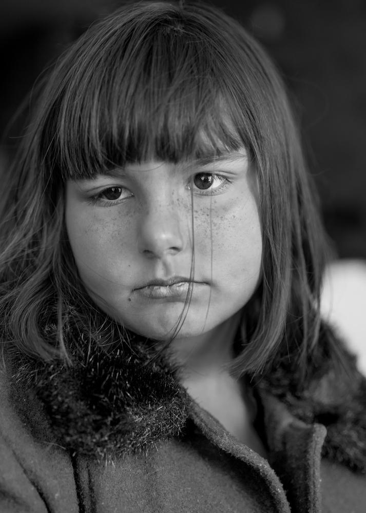 Photo in Random #girl #sad #b&w