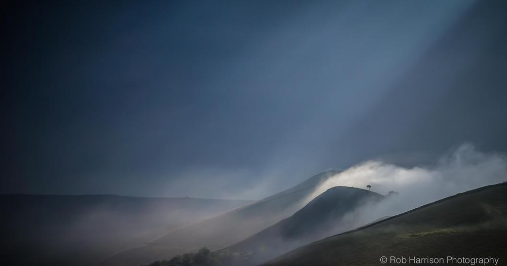 'Lonely Tree' I took this several months ago from Mam Tor, Peak District. by Robert Harrison