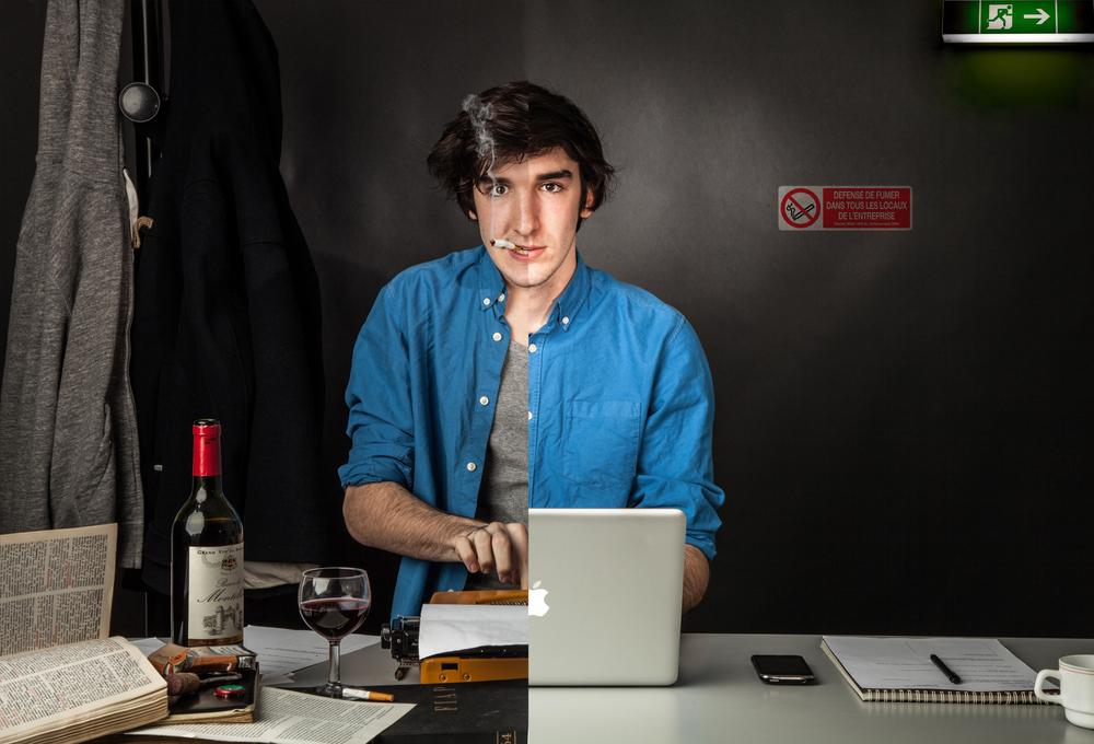 Photo in Journalism #journaliste #hier #aujourd'hui #métier #portrait