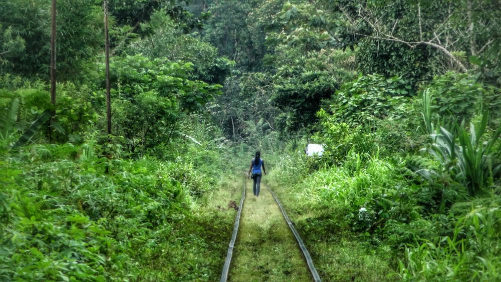 Rail walk by juliencruciani