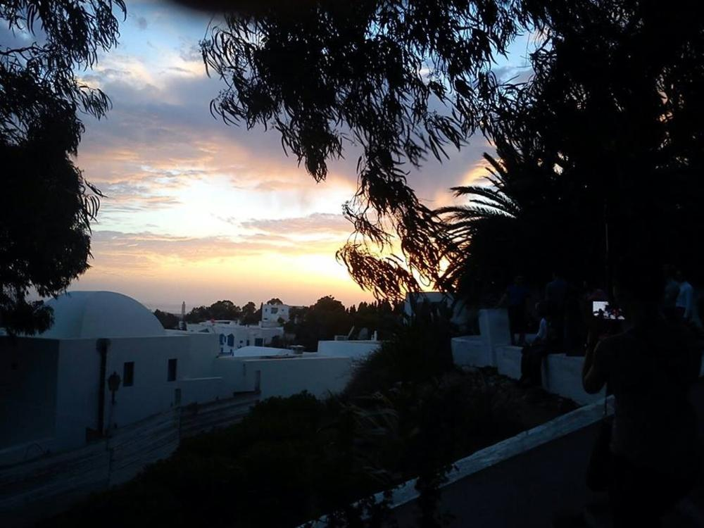 Sun Set, Sidi Bou Said , Tunisia by Abir Berrahal