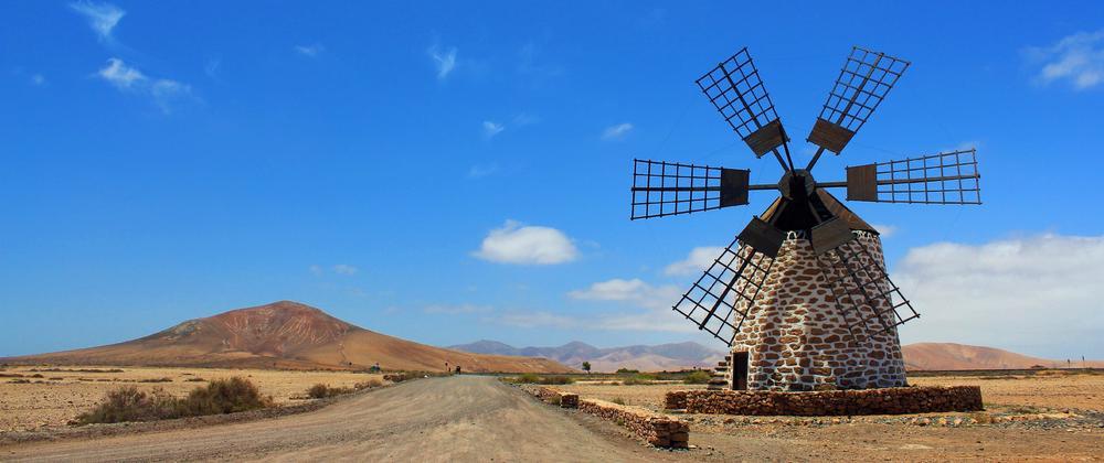 Fuerteventura Windmill by Imogen Farmer