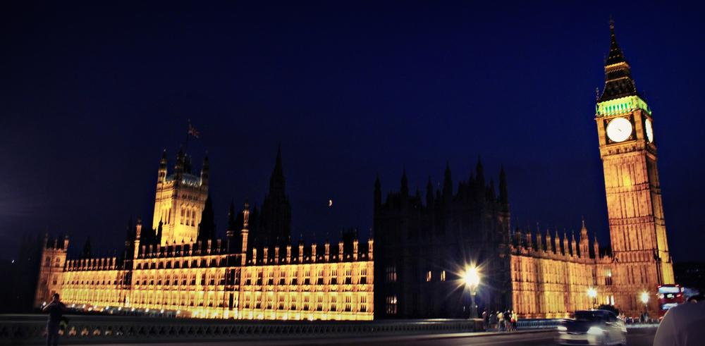 Photo in Landscape #london #big ben #houses of parliament #skyline #night #lights