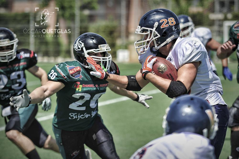 Photo in Sports #football #american football #futbol americano #lnfa #serie b #playoffs #mallorca #gijón #voltors #mariners #mallorca voltors #gijón mariners