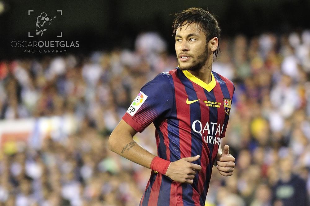 FC Barcelona - Real Madrid CF by Oscar Quetglas Navarro