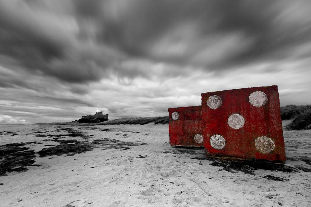 Bamburgh Dice by Neil Coleran-Photography