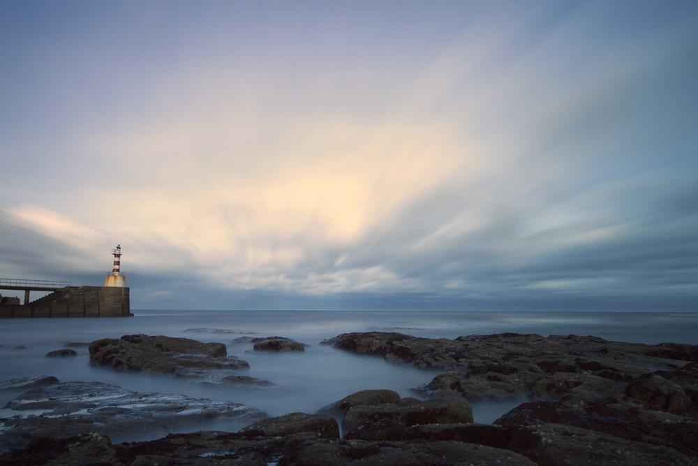 Amble Pier by Neil Coleran-Photography
