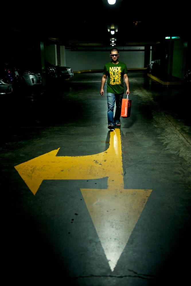 Photo in Abstract #positiv #right #straight #destiny #choice #way #yellow