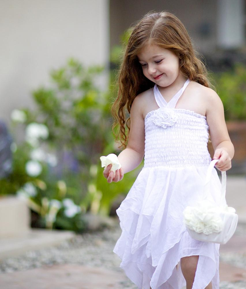 flower girl by Antonia Jones Photography