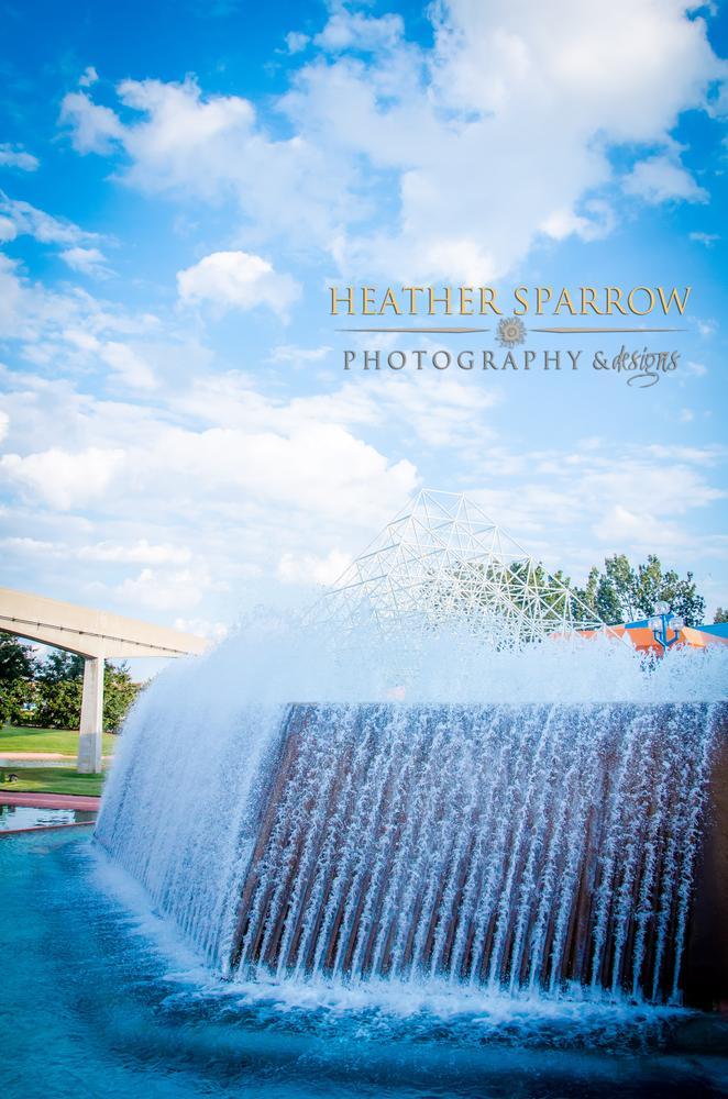 Photo in Random #waterfall #water #blue #wdw #walt world disney