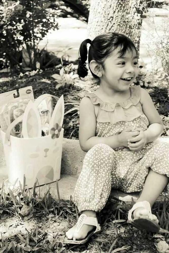 Photo in Family #kids #easter #smile #girl