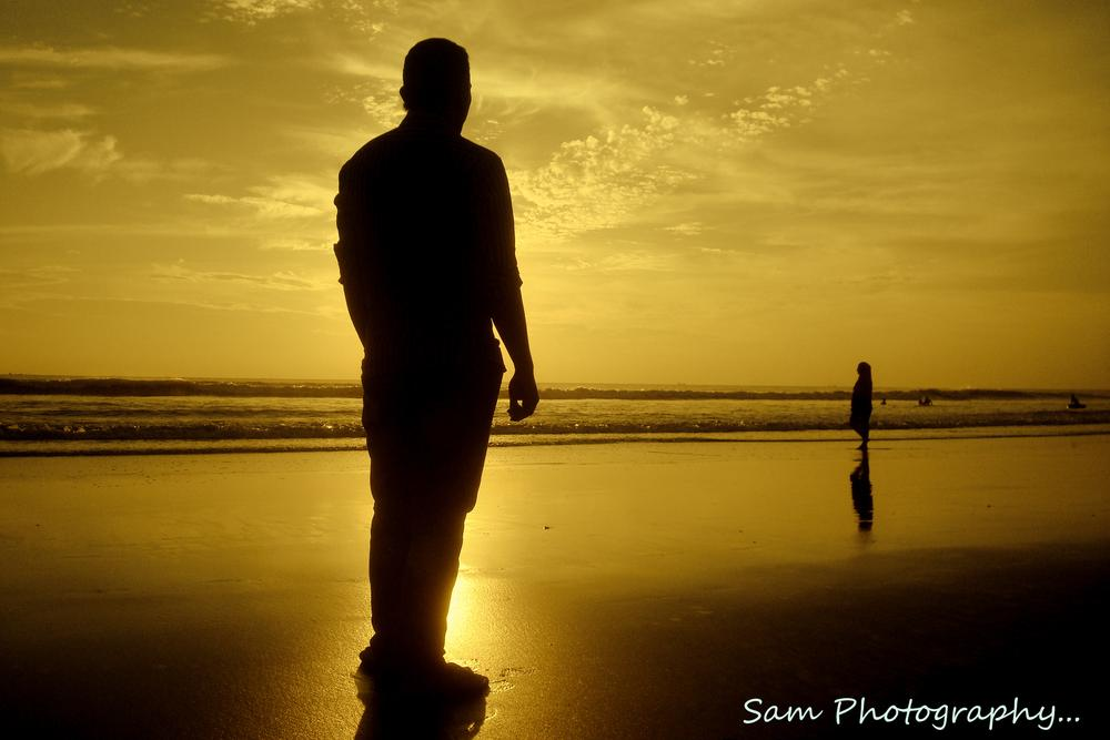 photo at Cox's Bazar beach. it was captured by sony cybershot 7.2 megapixel by Sagor Sam