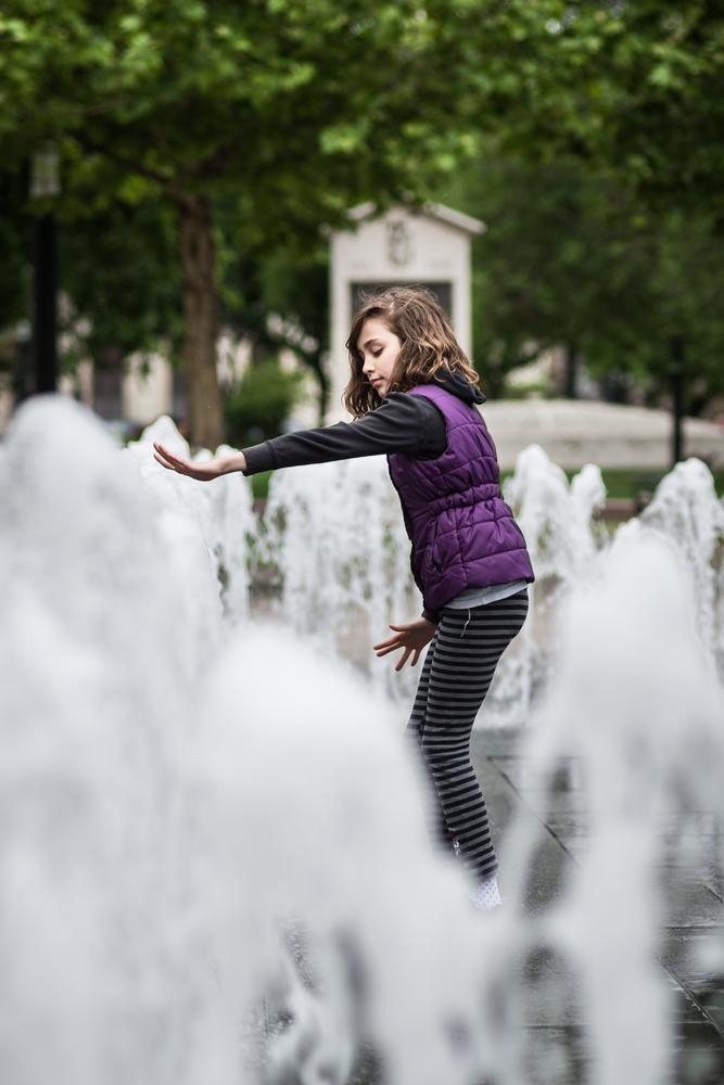 Photo in Portrait #portrait #fountain #budapest #street #photography