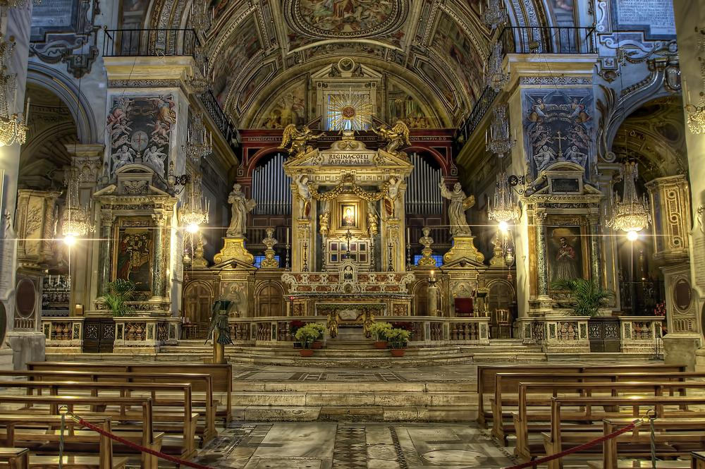 Photo in Architecture #rome #italy #europe #heaven #cathedral #hdr #church #nikon