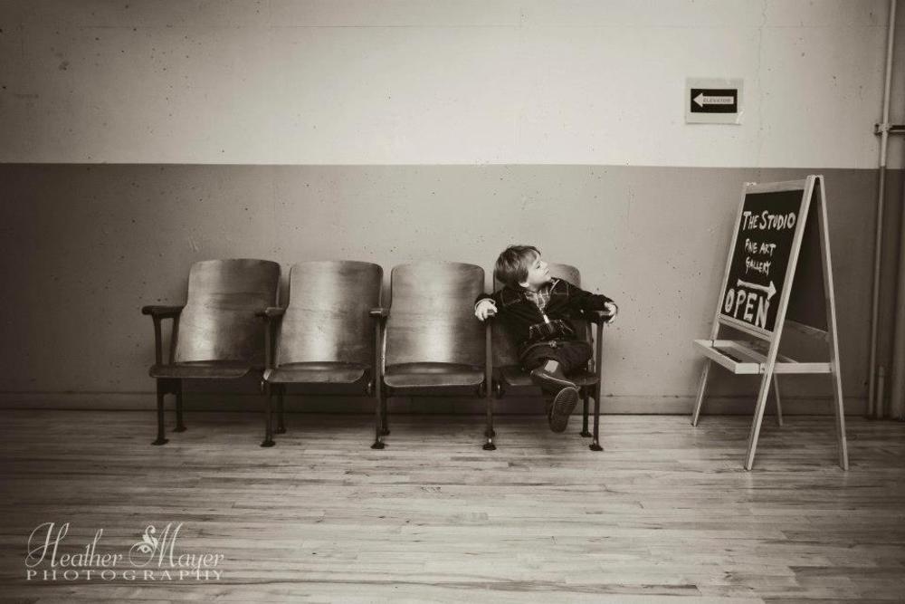 Contemplating Art~ by heathermayerphotography