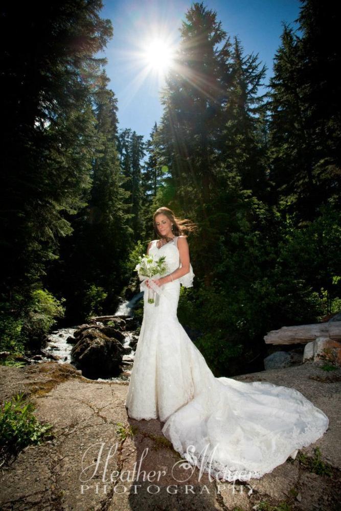 Sun Bride by heathermayerphotography