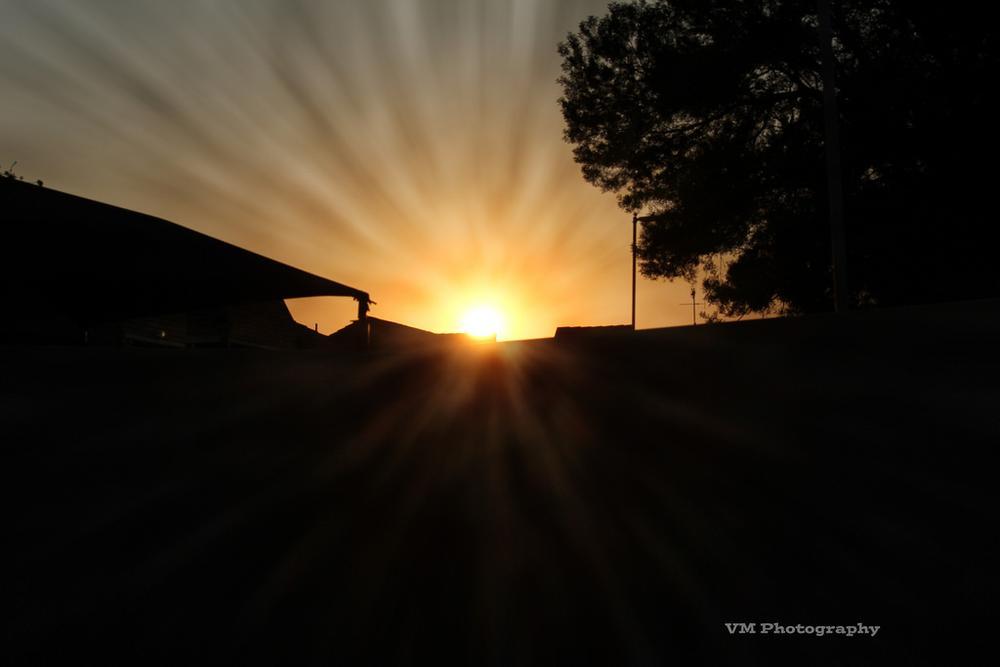 sunrise by Victor Morgan