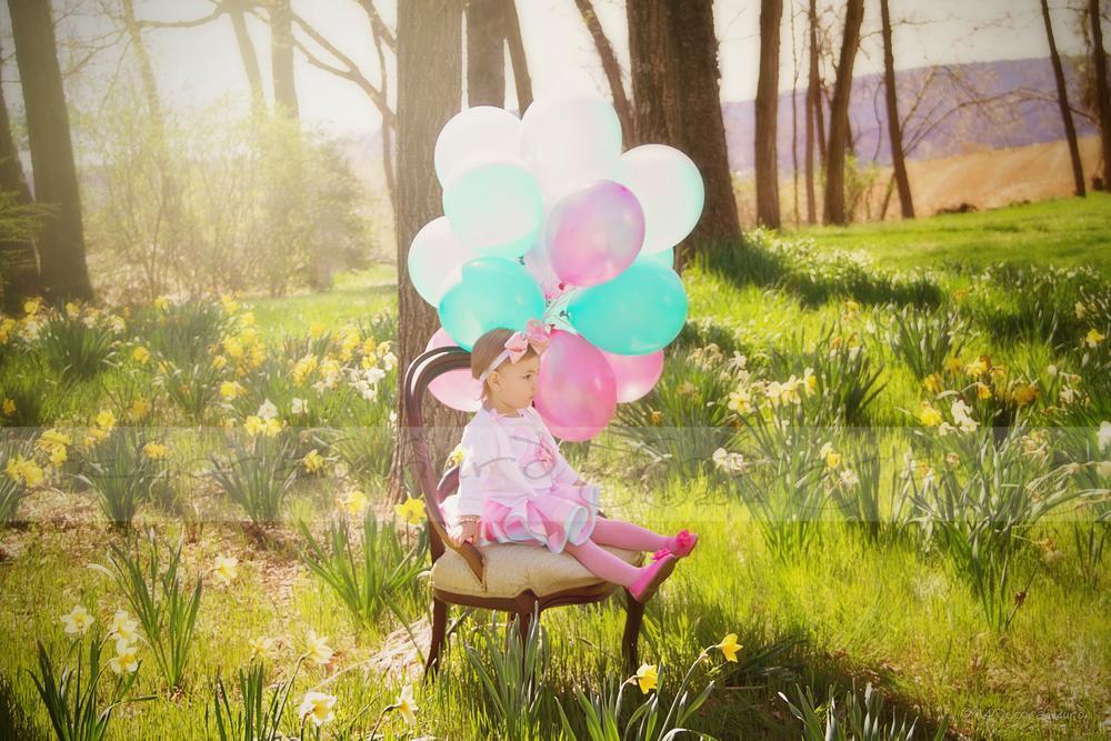 Photo in Portrait #baby #balloons #birthday