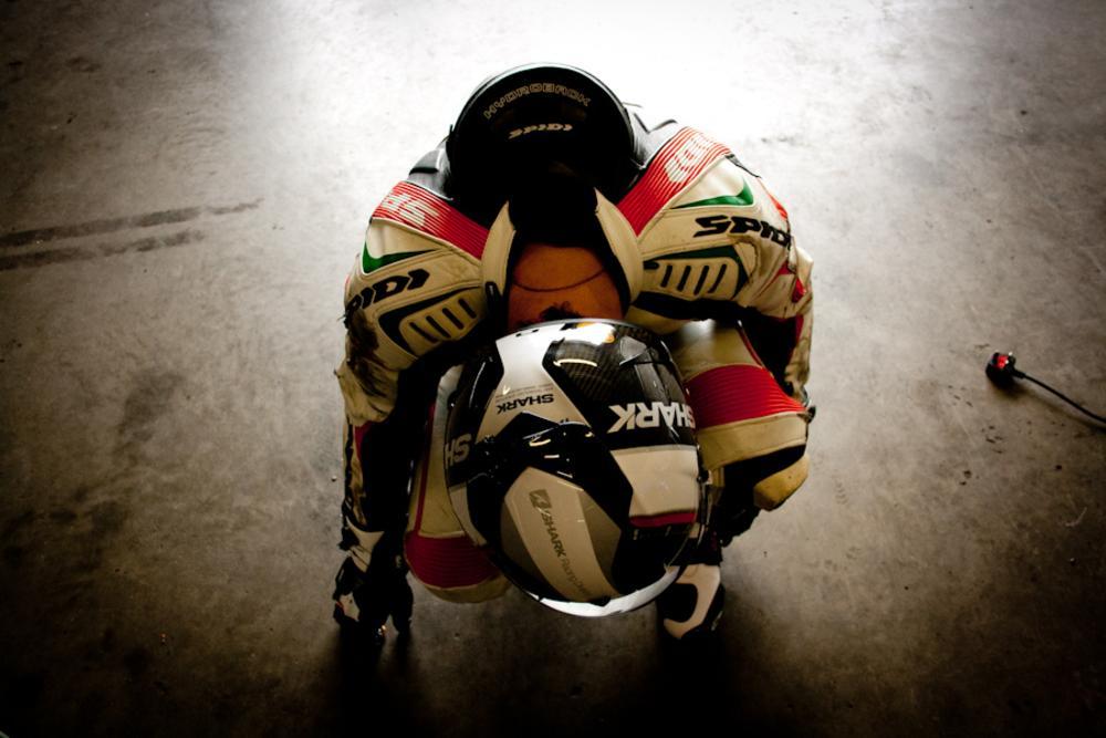 Photo in Sports #motorbike #superbike #racing #race #speed #track
