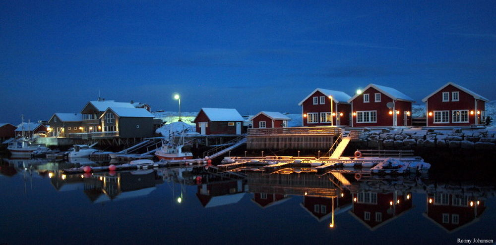 Christmas card from Vega in Norway by ronnyjohansen3701