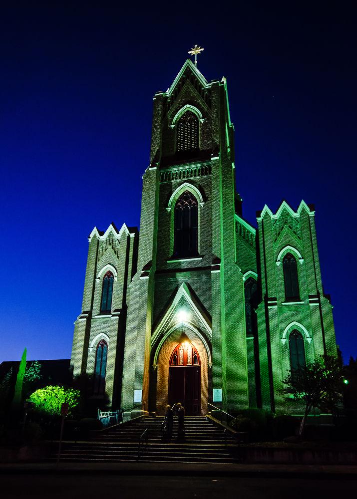 Photo in Architecture #church #night