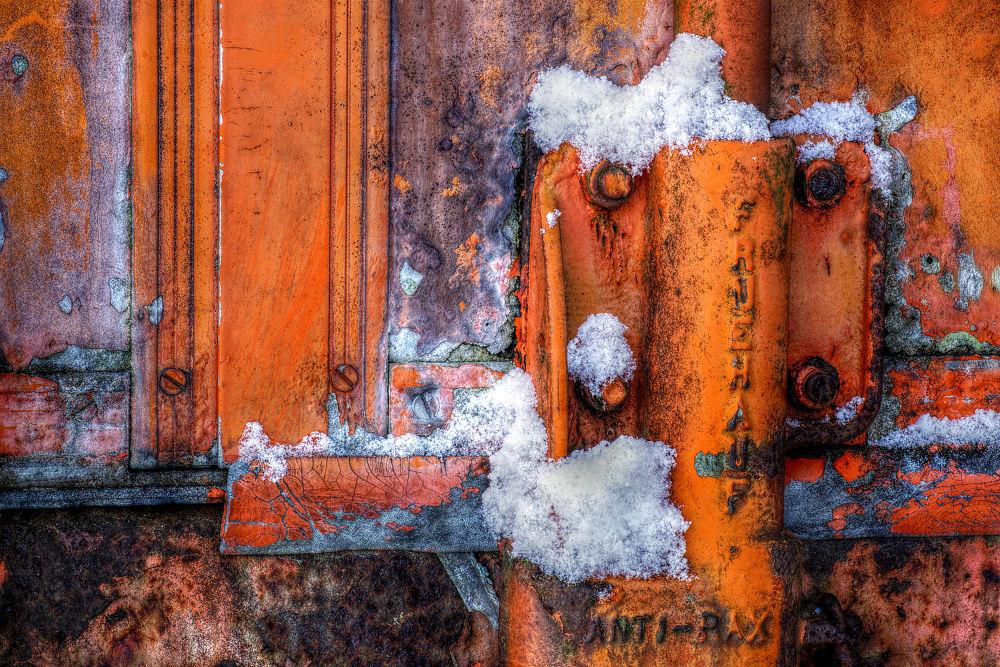 Decay in Winter by Rob van der Griend