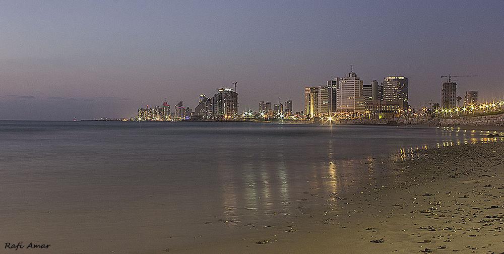 Sunset in Jaffa by rafi amar