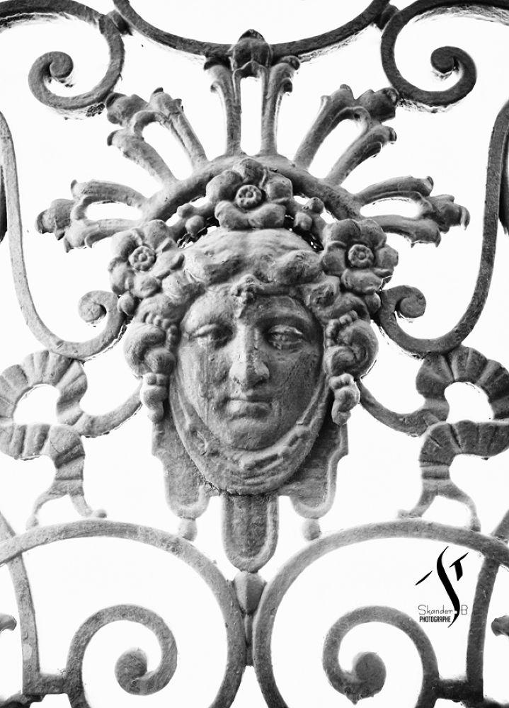 Garde-corps ajouré N&B - Arcades - Constantine by Skander BENMOHAMMED