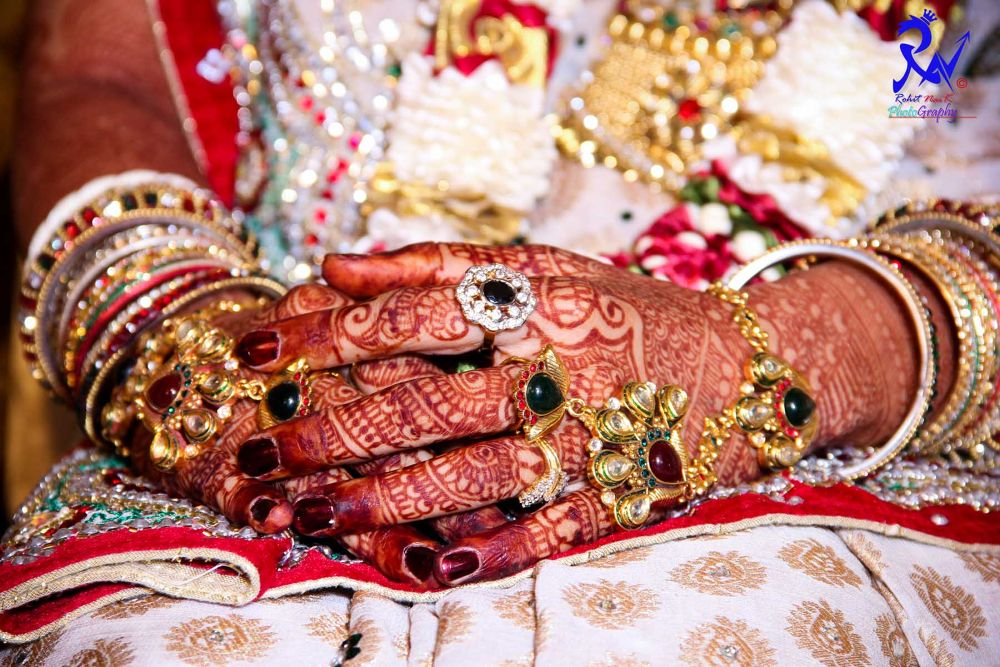 Photo in Wedding #jwellery #candid #wedding #rohitnaikphotography #gold #mumbai #bride