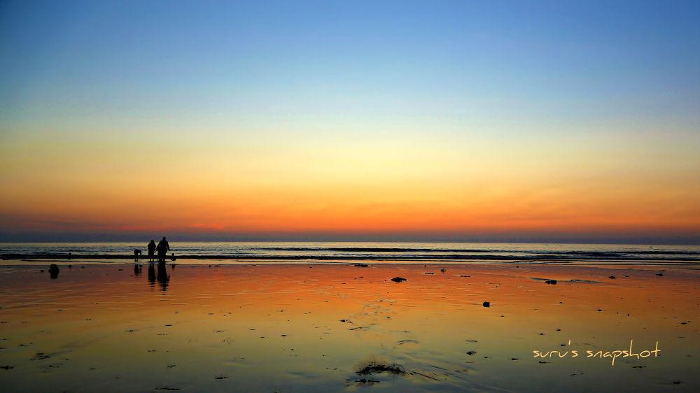 beach by surunair