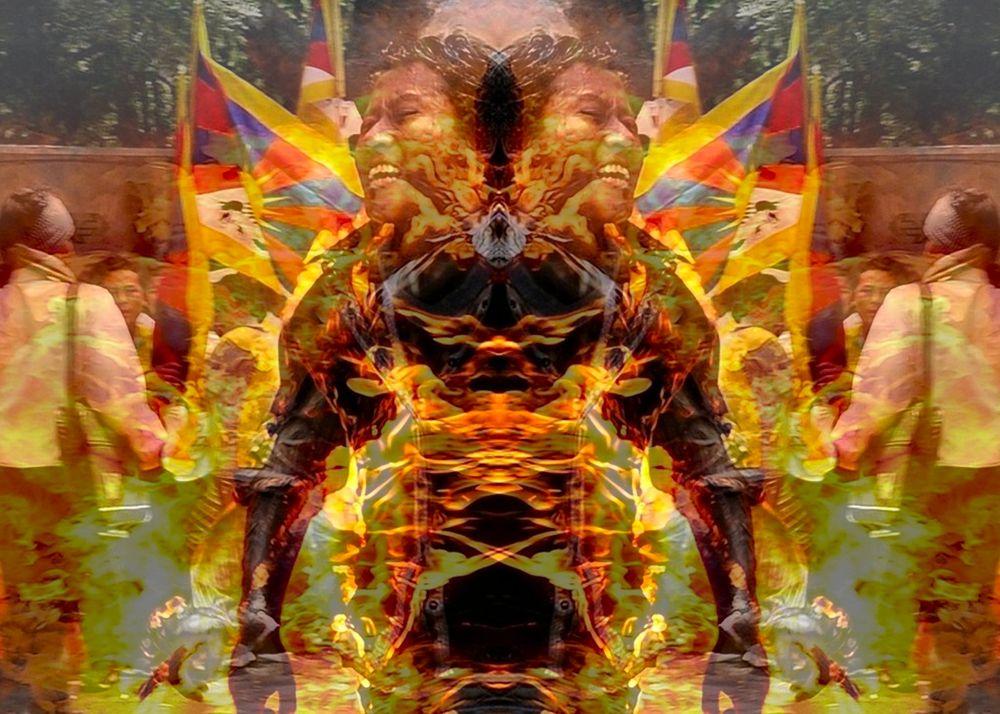 TIBET2_11_R by John Longbow