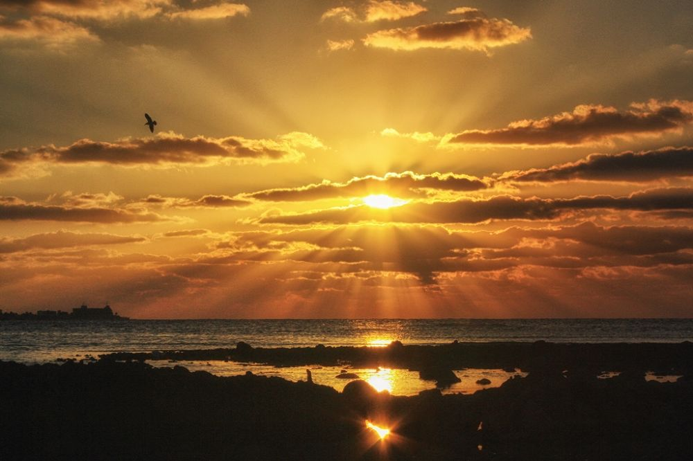Sea Sunsets (3) by Jorge Coromina