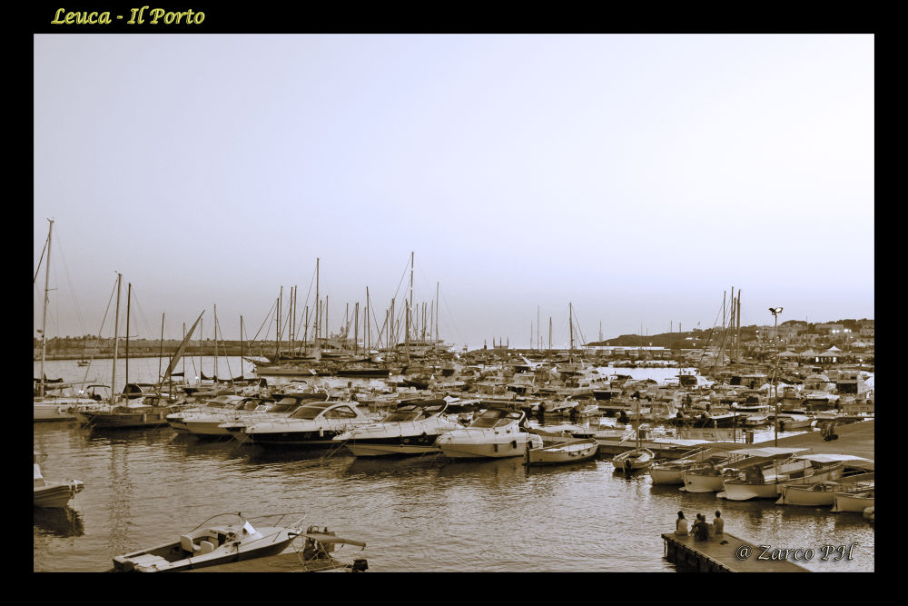 Leuca - il porto by Zarco70