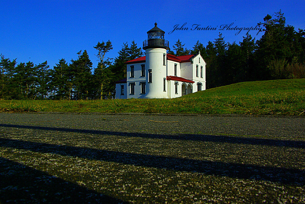 Fort Casey Lighthouse by JohnFantiniPhotography