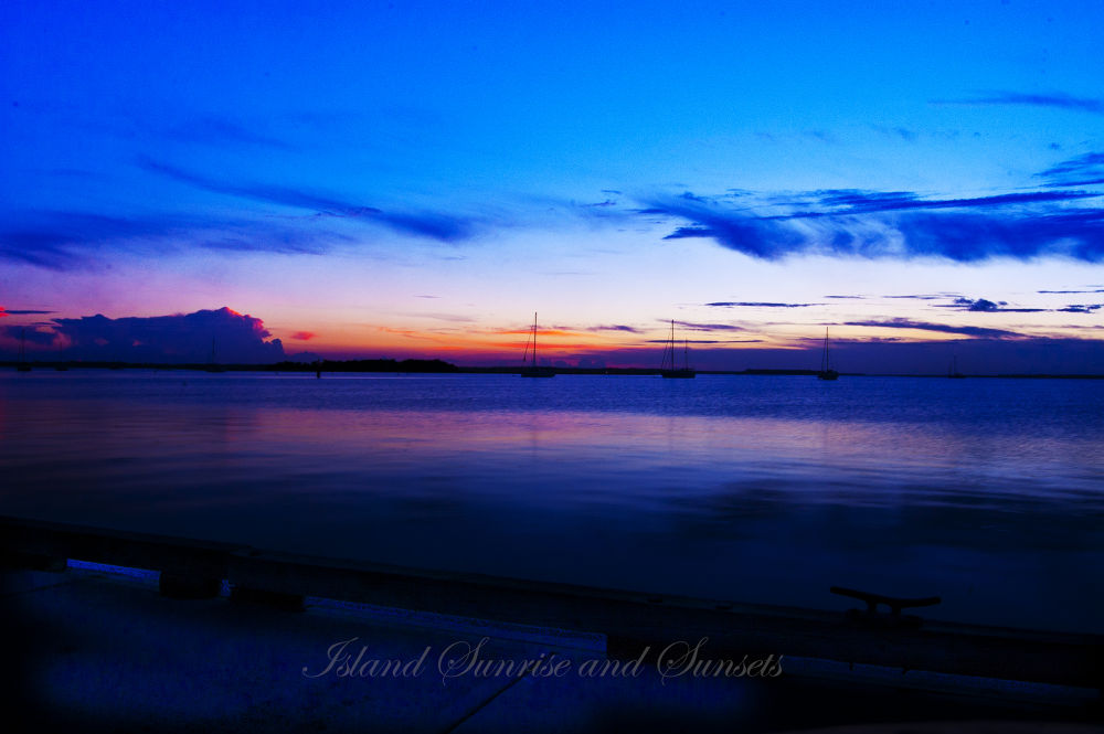 Island Sunrise and Sunsets 23 by pjorrie1