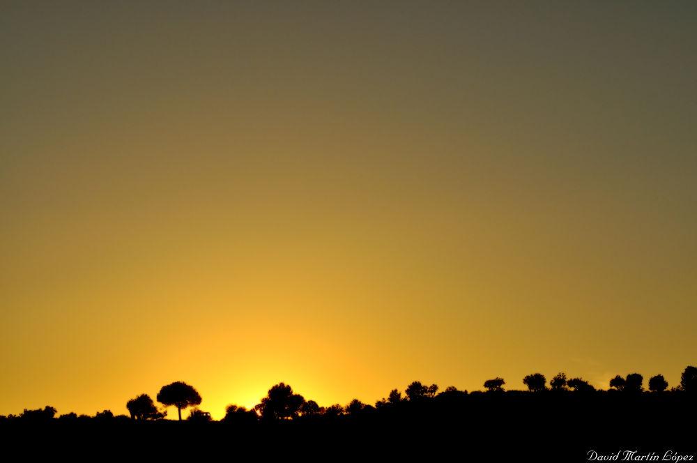 The sun is going... by davidmartinlopez