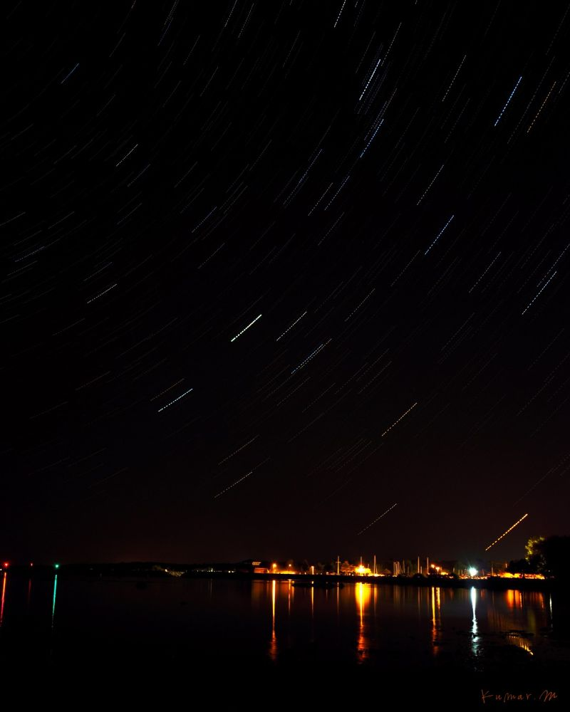 Star Trails by kumarm